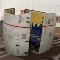 The meeting pod prototype.