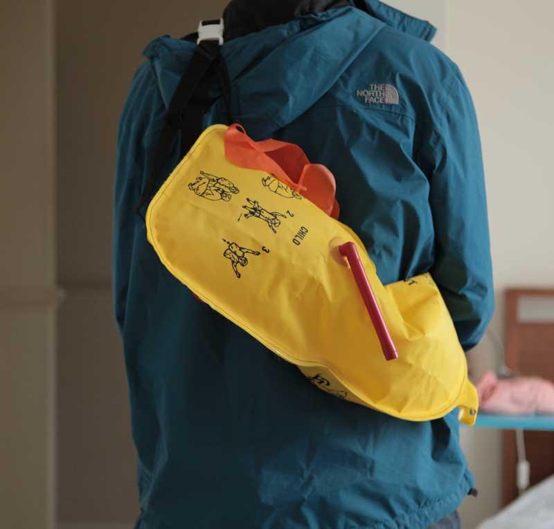 Life Jacket Inflatable Bag